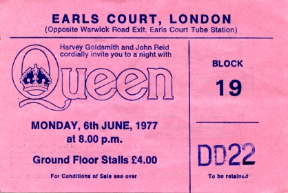 Earls Court 1977