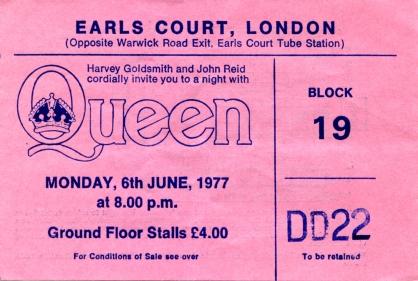 Earls Court 1977