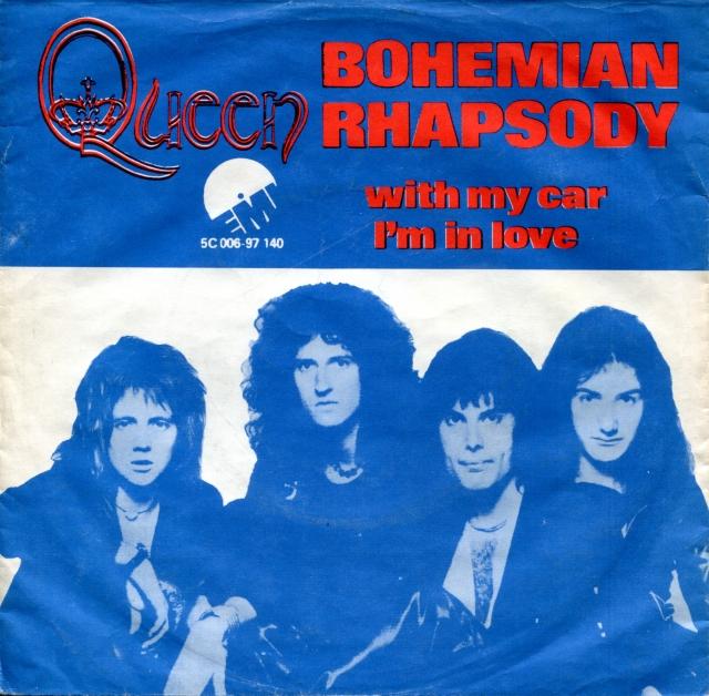 Queen - Bohemian Rhapsody (Denmark) (1975)