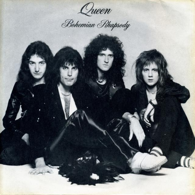 Bohemian Rhapsody / I'm In Love With My Car - EMI 2375 UK (1975)