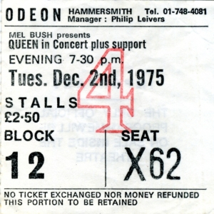 2nd December 1975 (Hammersmith Odeon, London, UK)