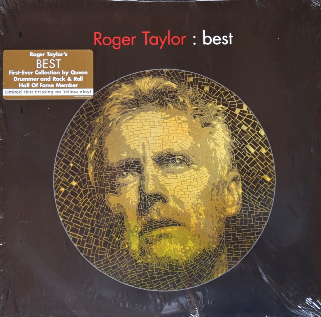 Roger Taylor: best - HOLLYWOOD 8 16651 01659 4 USA (2014) 2 yellow discs - Front