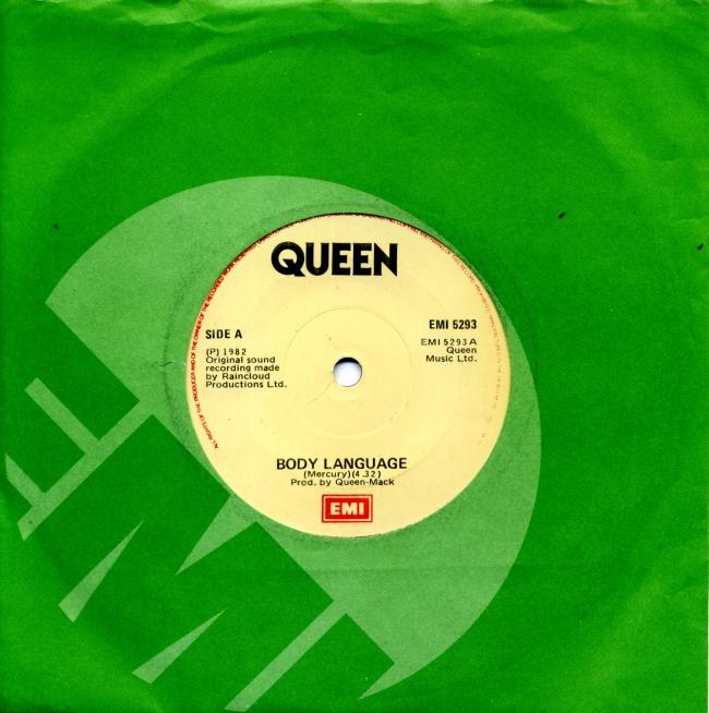 Body Language / Life Is Real - EMI 5293 IRELAND (1982) ~ No PS