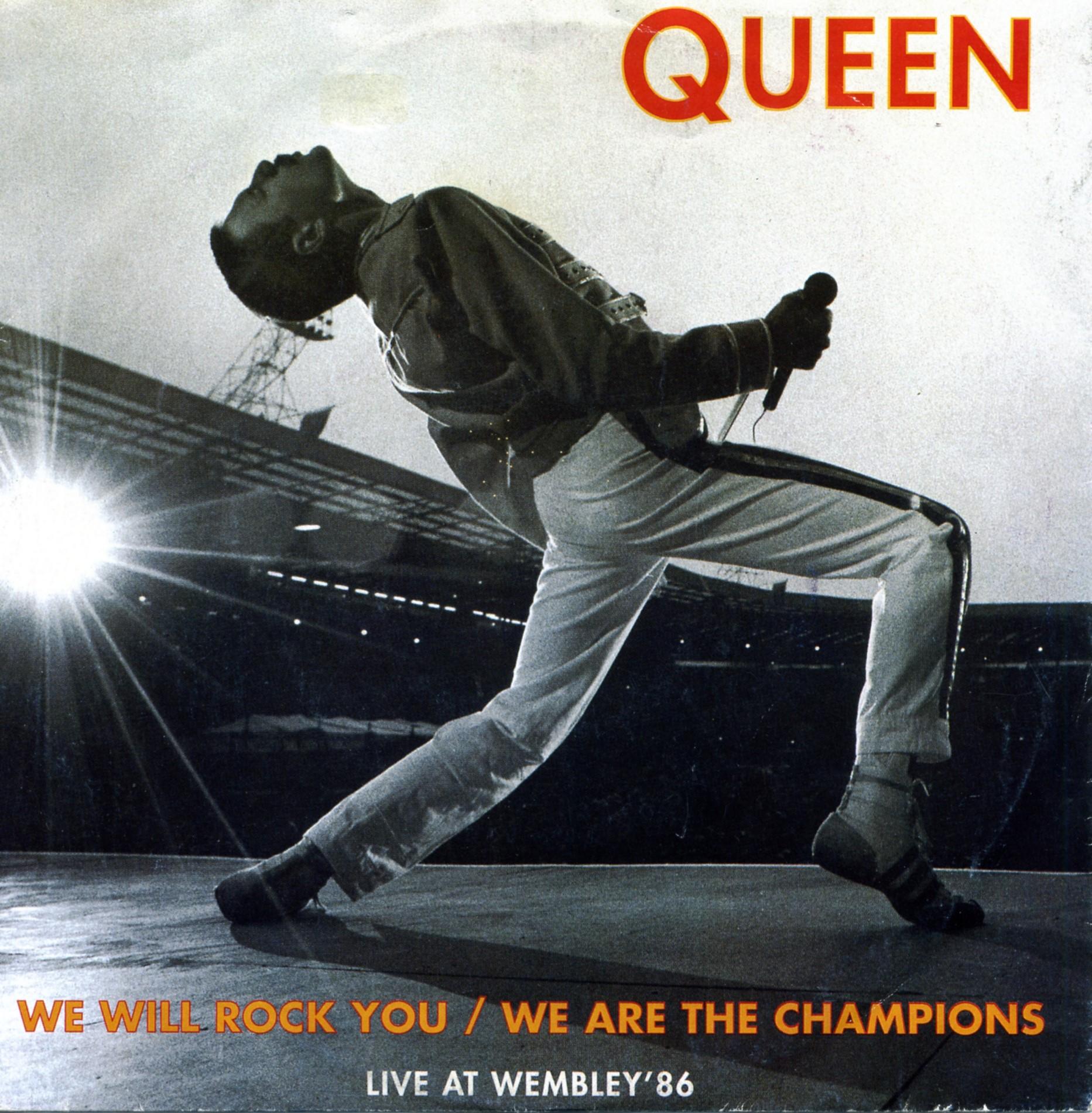 Live At Wembley 86 1992 Queenvinyls Com