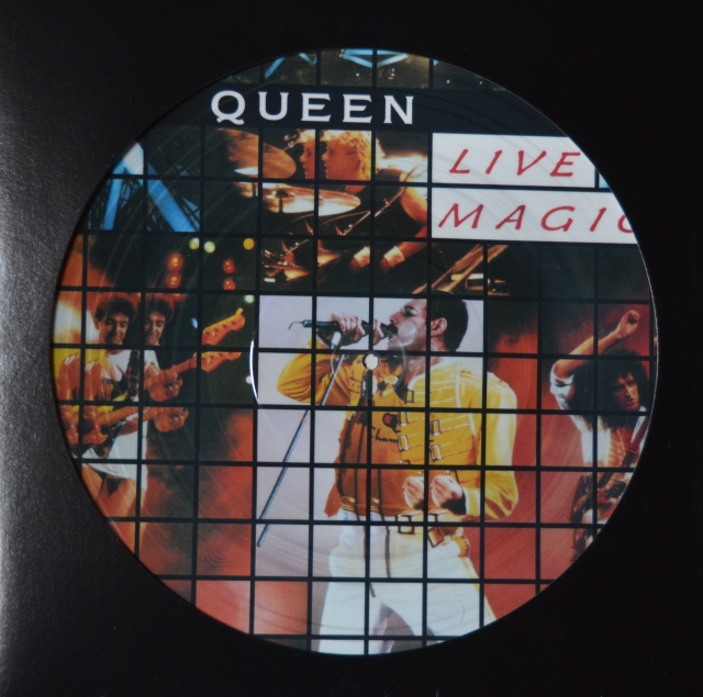 Live Magic - EMI (PLP 062 24 06751) ~ Picture disc. Bootleg