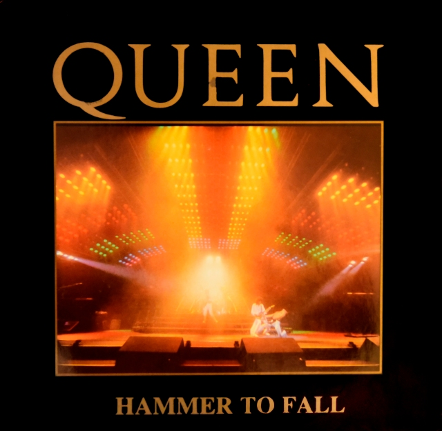 Hammer To Fall (Headbangers Mix) / Tear It Up - EMI 12 QUEEN 4 UK (1984) ~ Live cover