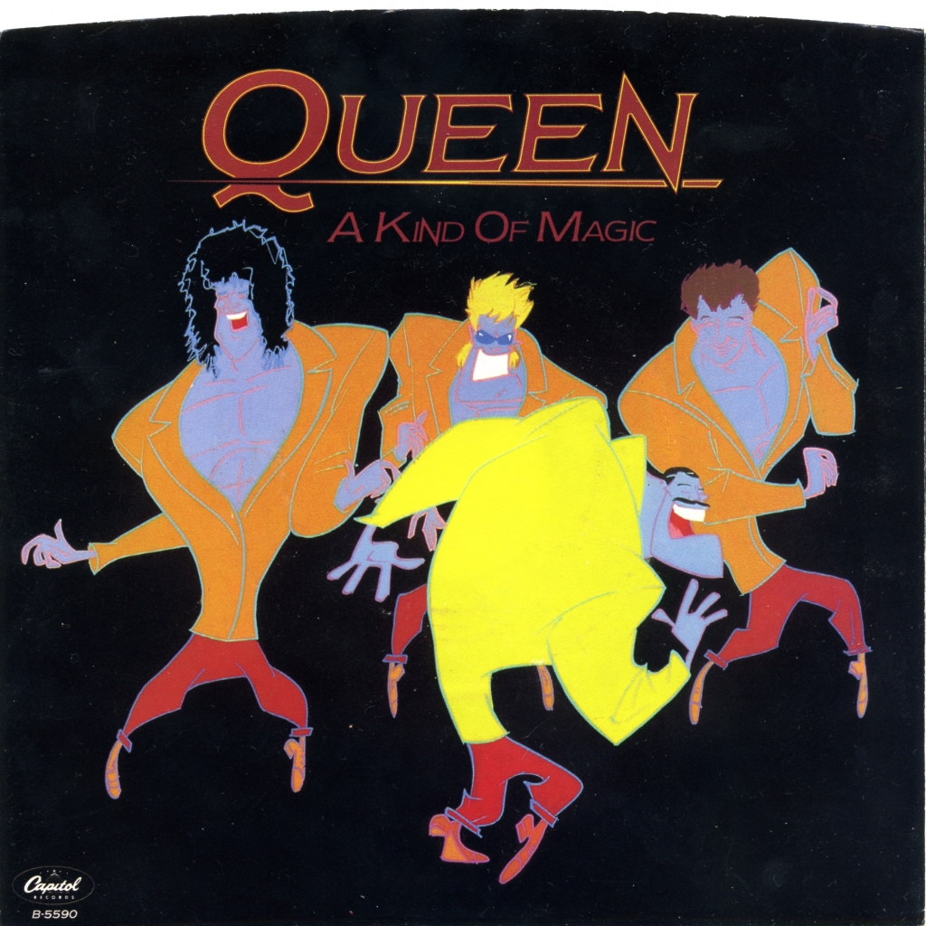 A Kind Of Magic 1986 Queenvinyls Com