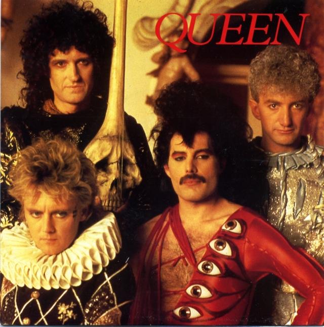 Interview - SOUND PUBLISHING QUEEN1 UK (1989) ~ Bootleg. Blue Vinyl - Front