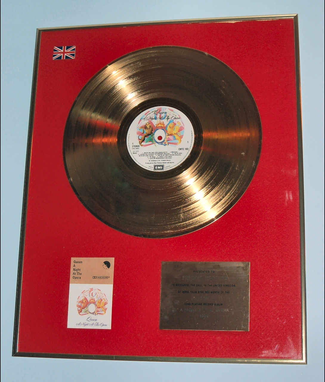 Awards Riaa Amp Bpi Others Queenvinyls Com