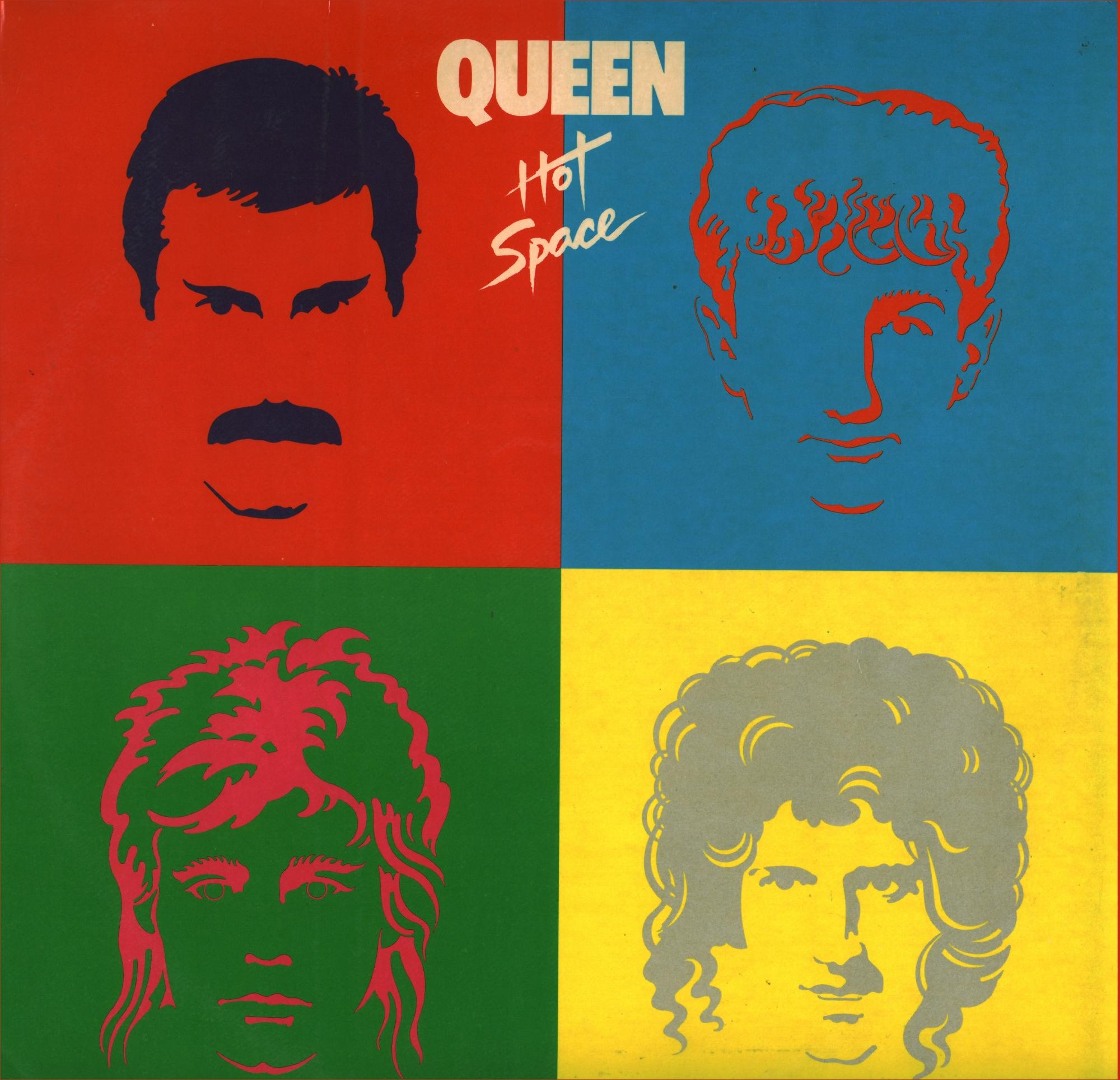 Queen Hot Space Espacio Caliente