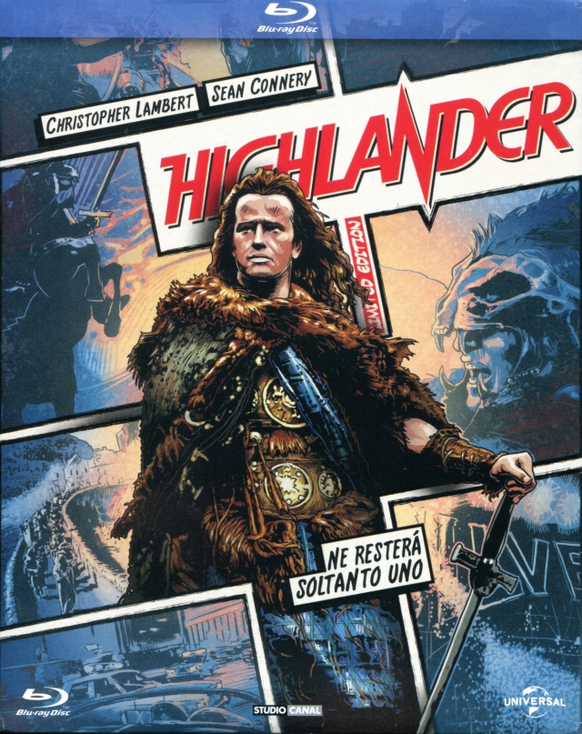 ghlander (Italian Edition Bluray)