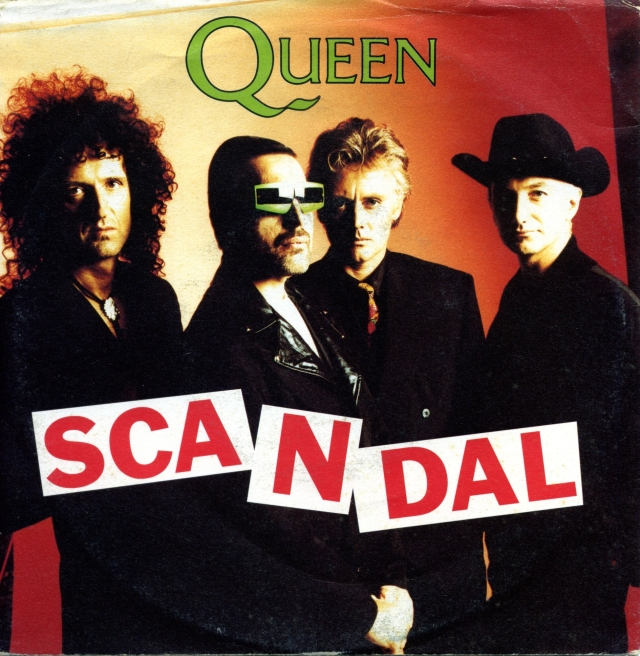 Scandal / My Life Has Been Saved – PARLOPHONE 006 20 3544 7 ITALY (1989)
