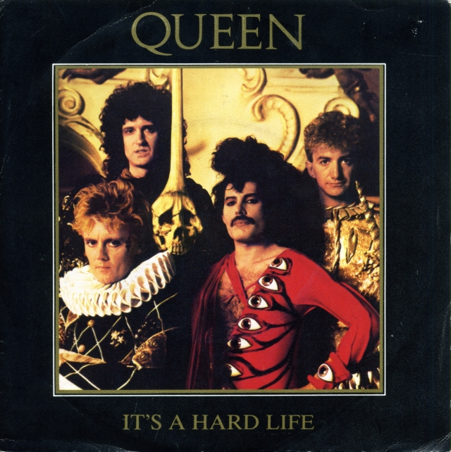 It's A Hard Life / Is this The World We Created…? - EMI 006-2002157 SPAIN (1984) ~ Promo.