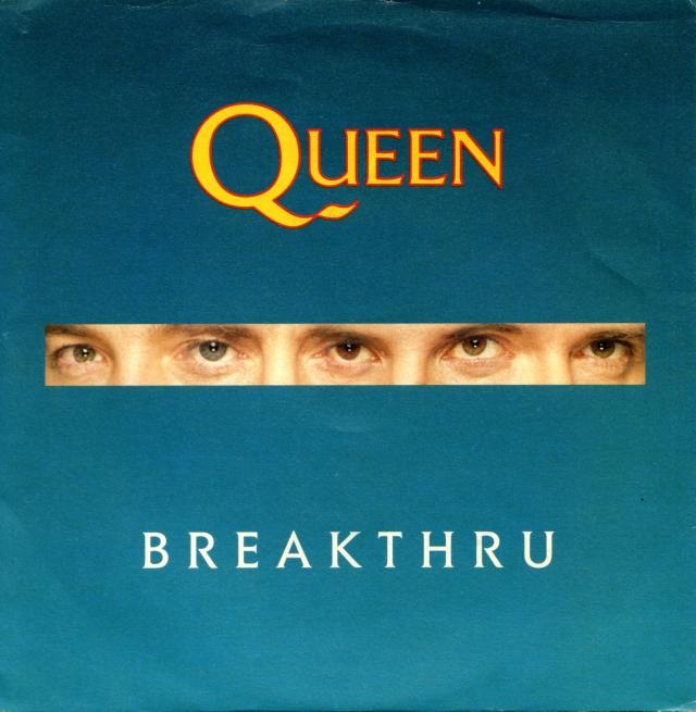 Breakthru / Stealin' - PARLOPHONE 06 2034217 ITALY (1989)