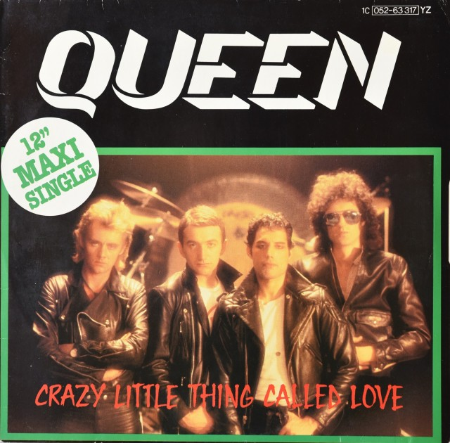 Crazy Little Thing Called Love / We Will Rock You (live) - EMI 1C 052-63 317 YZB GERMANY (1979)