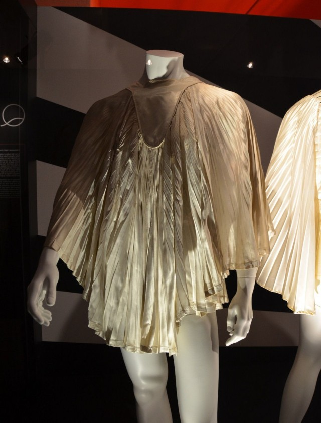 Dress designed by Zhandra Rhodes and used by Queen in concert (such as the concert at the Hammersmith, 1974)