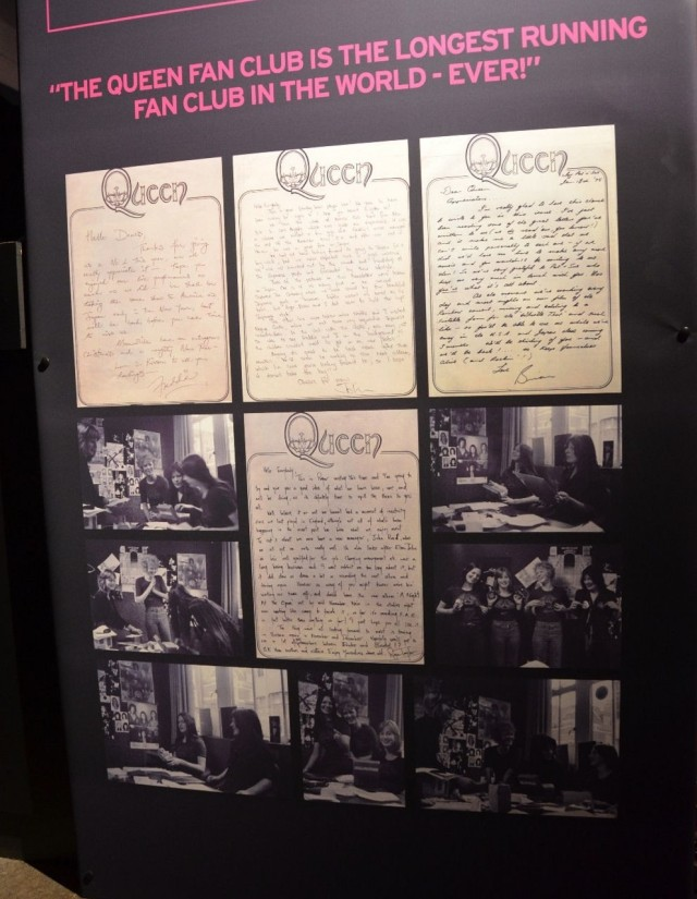 The handwritten letters for each member to the fan club