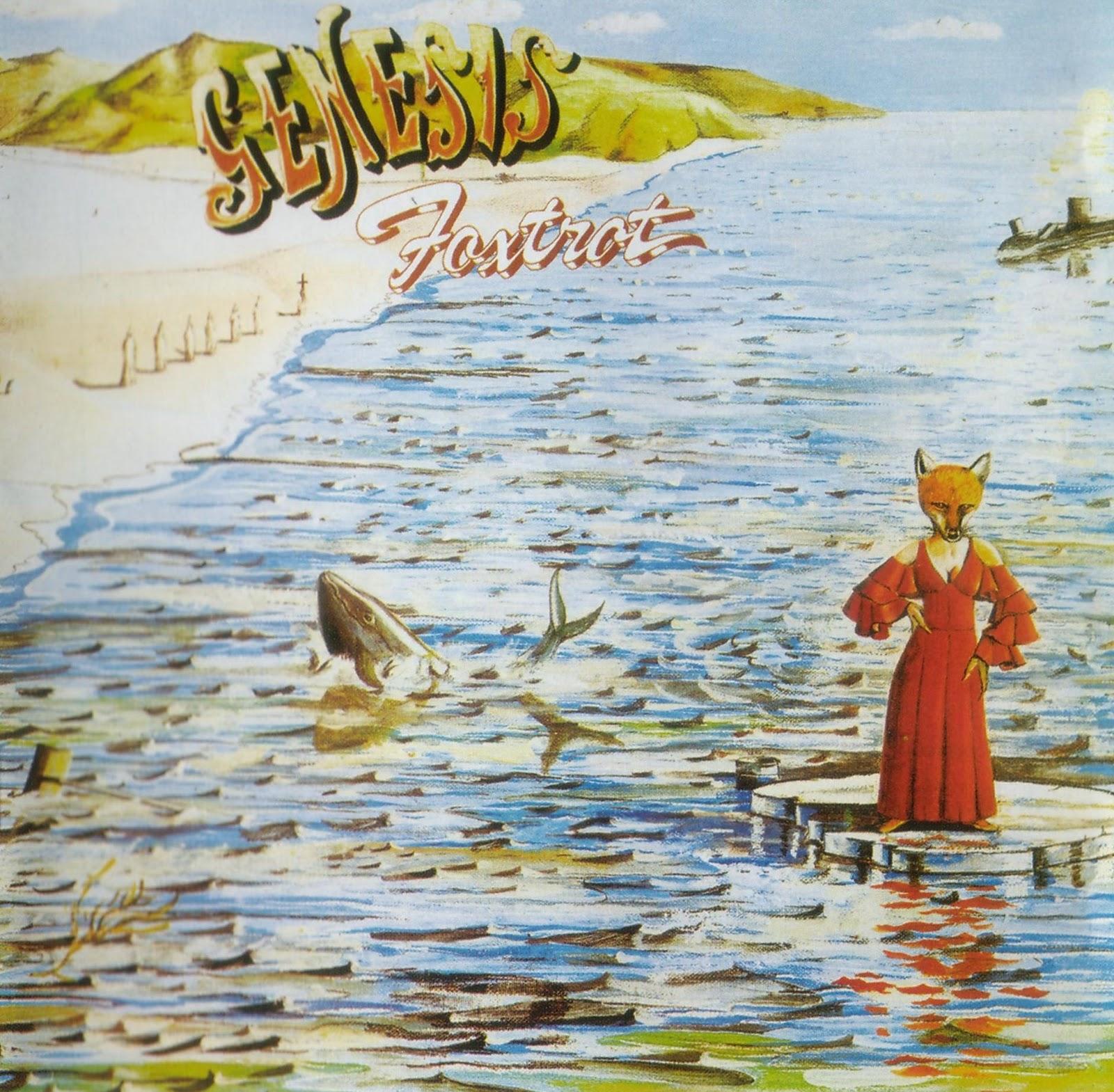 Genesis - Foxtrot-Front 1972