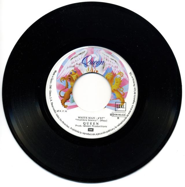 Somebody To Love Spain (promo) - Side B