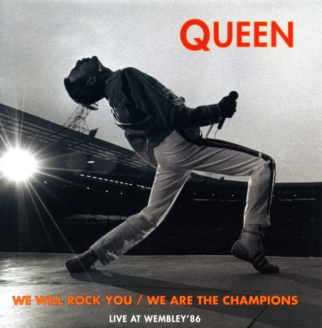 We Will Rock You (live) / We Are The Champions (live) / We Will Rock You (studio) / We Are The Champions (studio) - EMI 7243 8 80120 7 HOLLAND (1992)