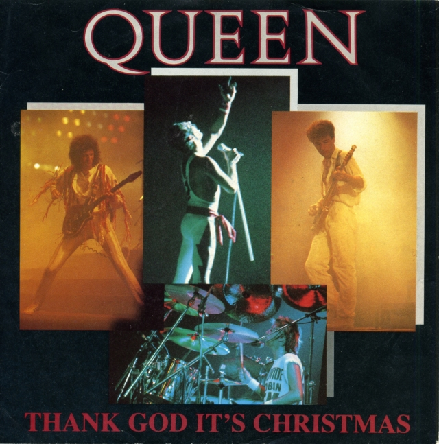 Thank God It's Christmas / Man On The Prowl / Keep Passing The Open Windows - EMI QUEEN5 UK (1984) ~ Press test - No label on vinyl - Front