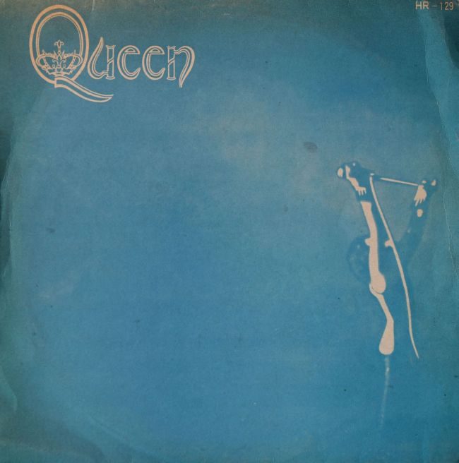 Queen - ELEKTRA HR-129 / EKS-75064 SOUTH KOREA (1973) ~ Blu monocromathic cover