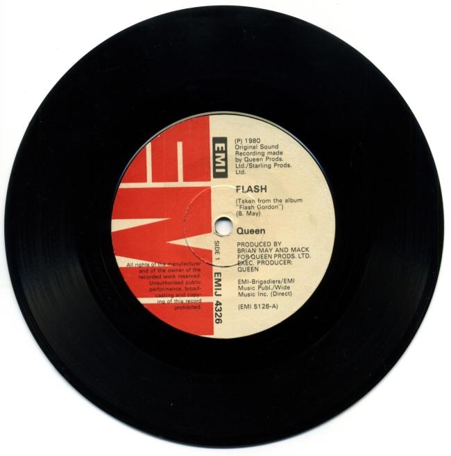 Flash / Football Fight - EMI EMIJ4326 ZIMBABWE (1980) ~ No PS