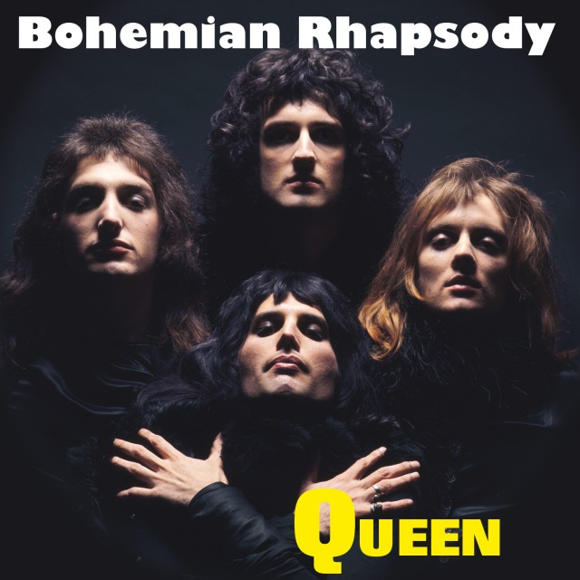 Bohemian Rhapsody / I'm In Love With My car - VIRGIN 6 02547 50080 9 UK (2015) ~ Record Store Day edition