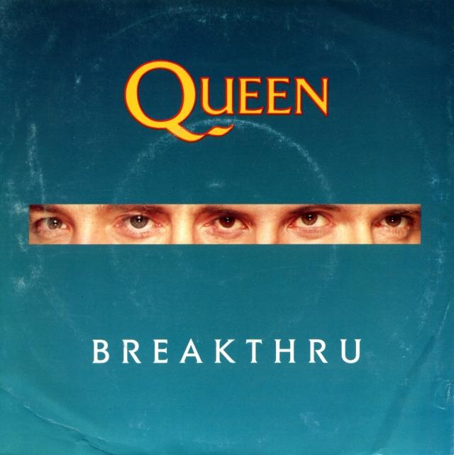 Breakthru / Stealin' - PARLOPHONE 2034217 PORTUGAL (1989)