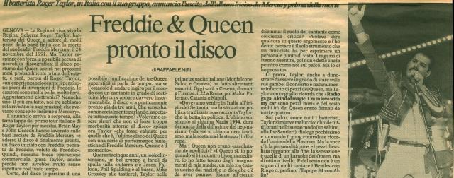 La Repubblica 20 gennaio 1995