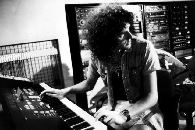 brian-a-kind-of-magic-album-recording-session