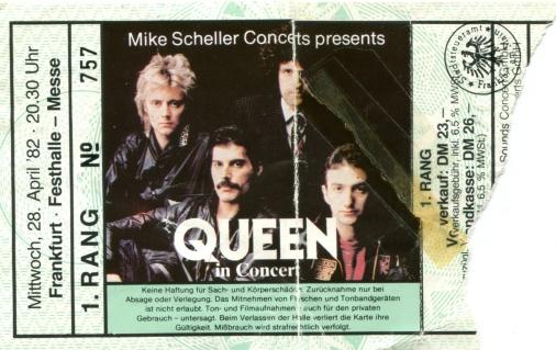 Ticket 28-04-1982