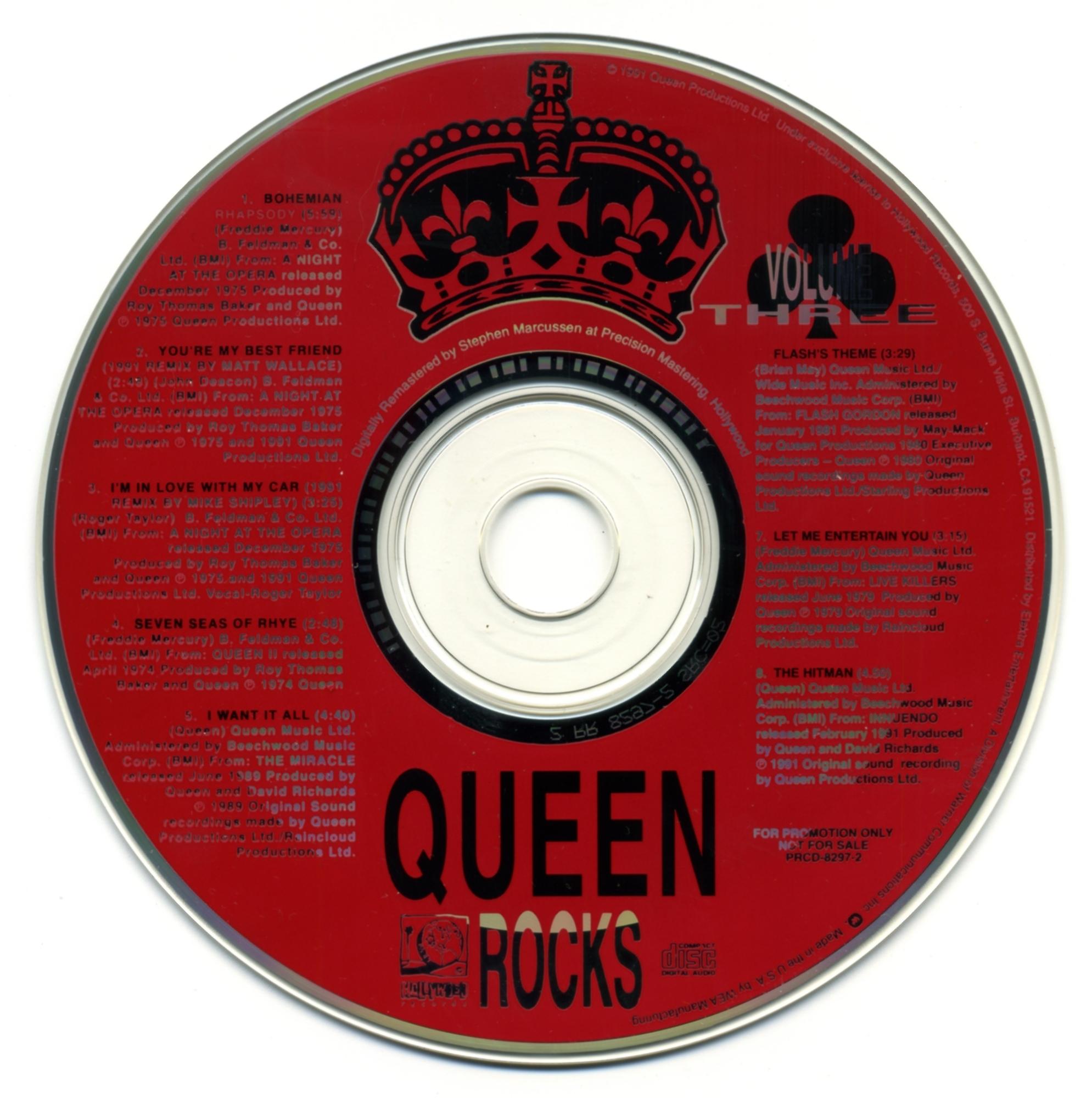 Promo and Rare CD (album) – Queenvinyls com