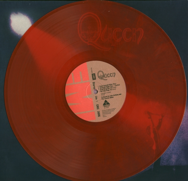 Queen I Red Vinyl Side A